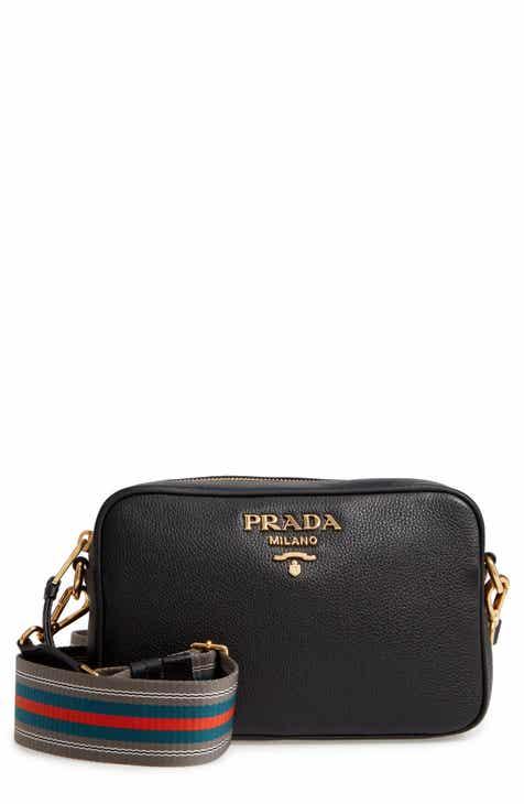 6553c98de49 Prada Vitello Daino Leather Camera Bag