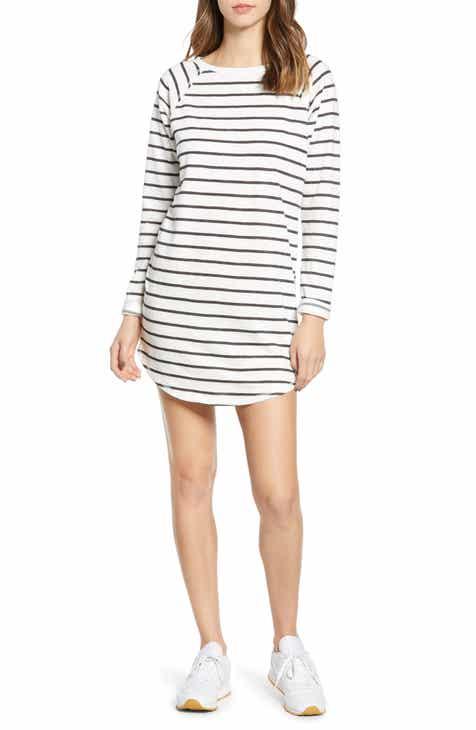 2aebfd35abda9 Billabong Only You Stripe Sweatshirt Dress