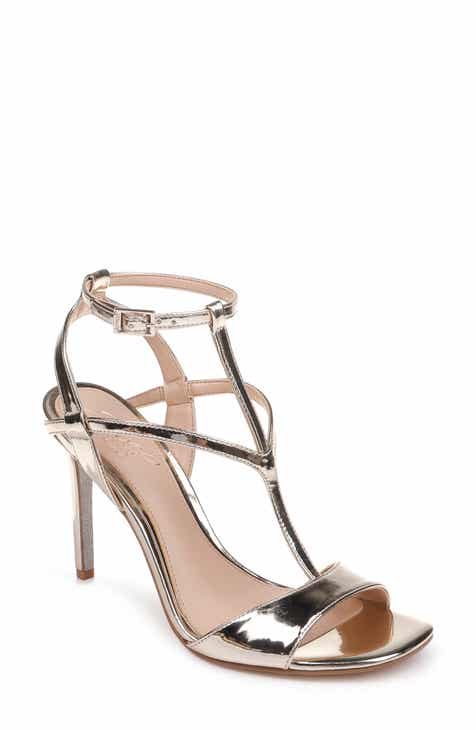9c2c66ffcb4 Jewel Badgley Mischka Kiki Ankle Strap Sandal (Women)