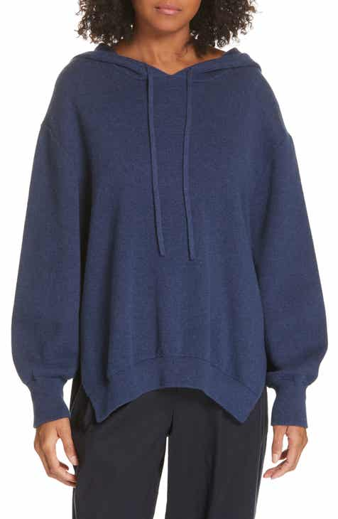 THE GREAT. The Micro Terry Bubble Sweatshirt by THE GREAT