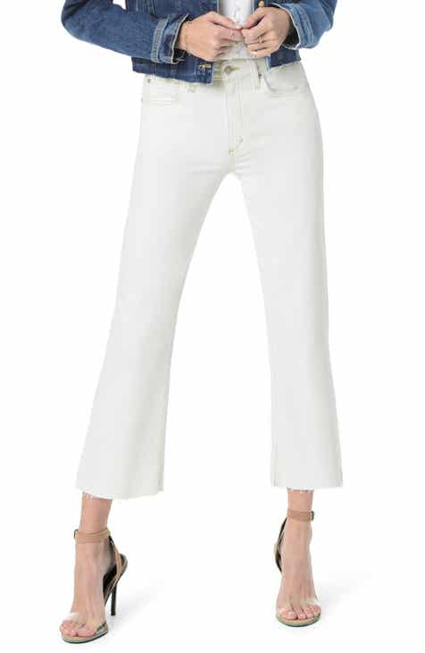 e49b1d8c342a Joe s Wyatt High Waist Raw Hem Crop Flare Jeans (Isabelle)