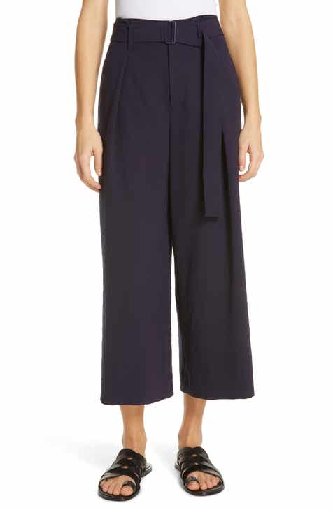 SUISTUDIO Ally Pintuck Seam Wool Trousers by SUISTUDIO