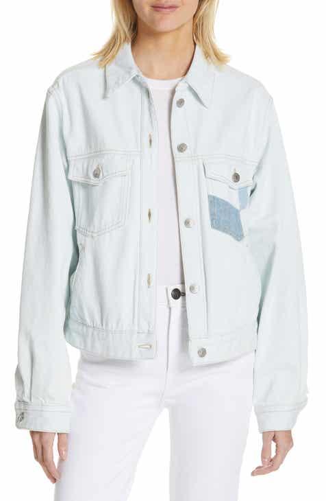 1da4d18d4fa28 Isabel Marant Étoile Lindya Patchwork Denim Jacket