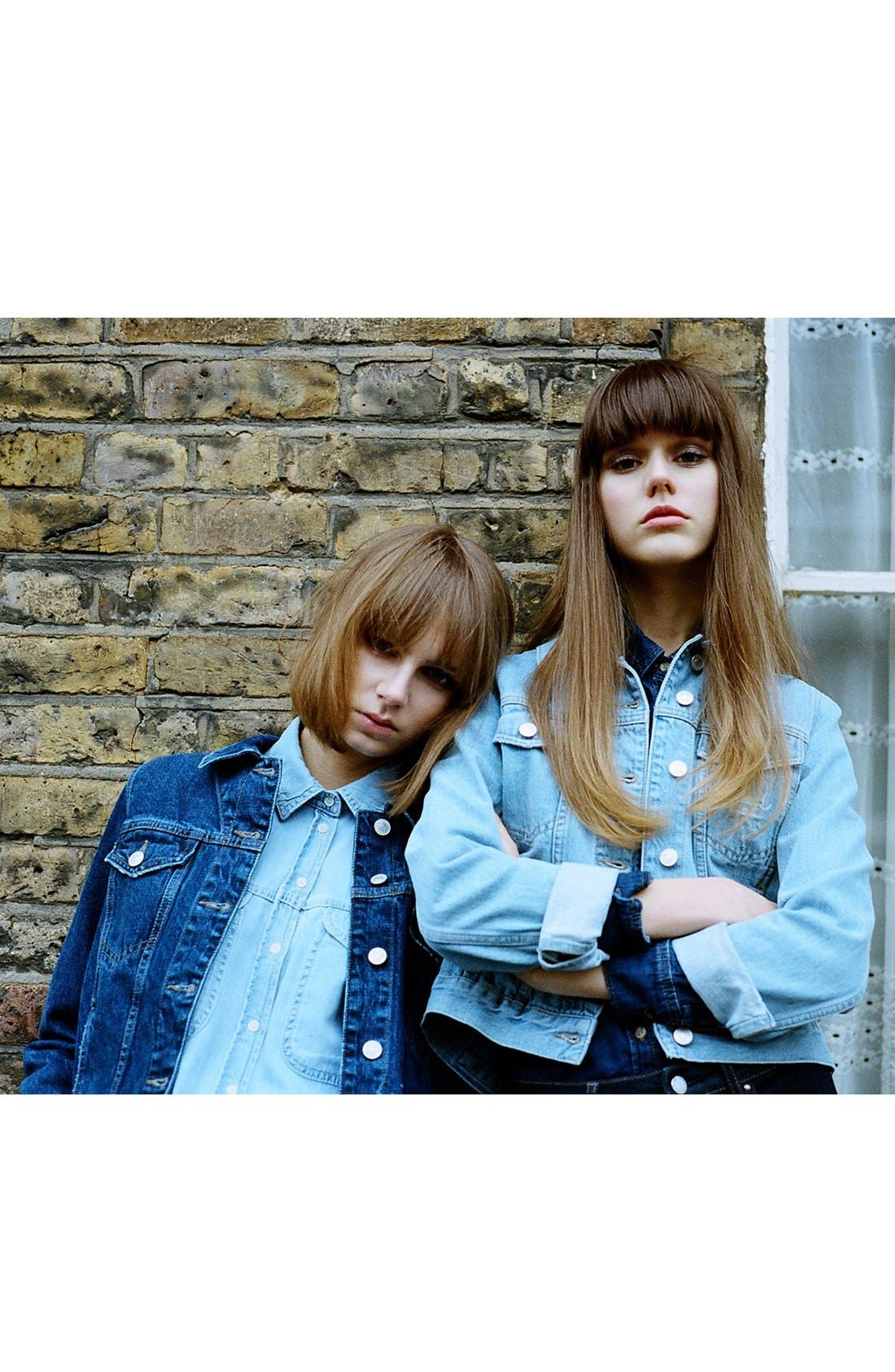 Alternate Image 6  - Topshop Moto 'Tilda' Denim Jacket