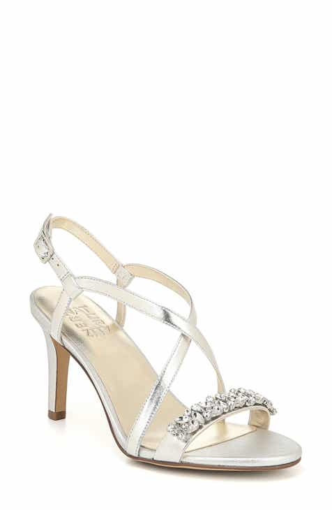 92da8a8d87b3 Women s Metallic Wide Width Comfortable Shoes