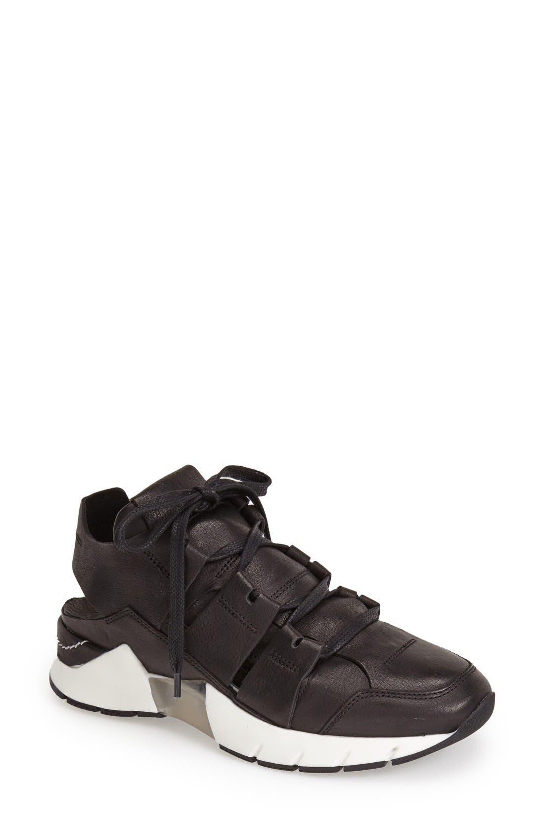 Main Image - CA by CINZIA ARAIA Cutout Leather Sneaker (Women)