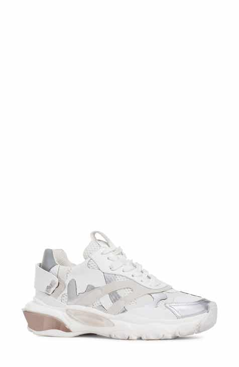 a414ab88982399 VALENTINO GARAVANI Bounce Camo Low Top Sneaker (Women)