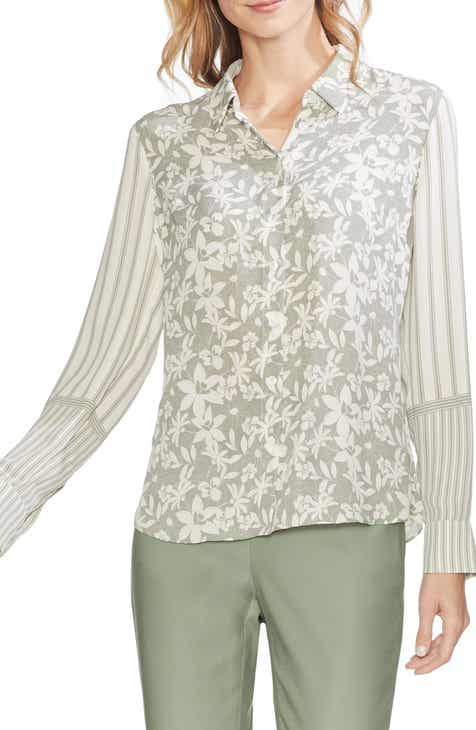 50f4e847351 Vince Camuto Floral Lace Top