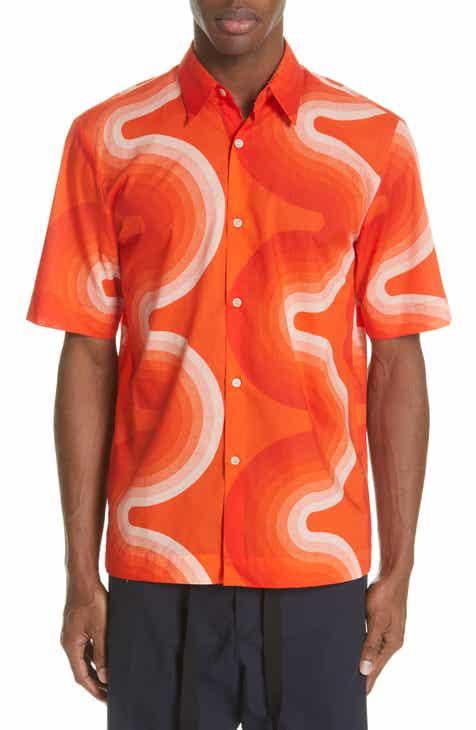 ba5abbb4f2 Dries Van Noten Clasen Wave Print Shirt