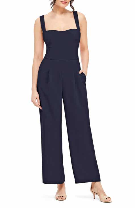 a40fabcc3d0 Gal Meets Glam Collection Nicole Square Neck Jumpsuit (Regular   Petite)  (Nordstrom Exclusive)