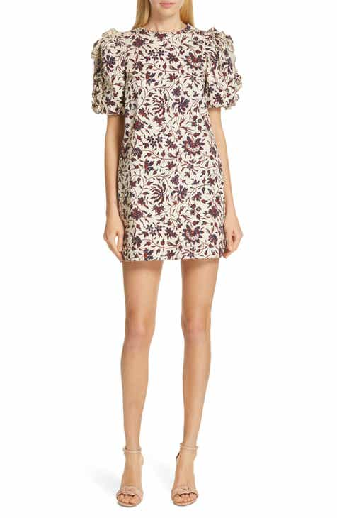 0b55861518a Ulla Johnson Poppy Ruffle Sleeve Shift Dress