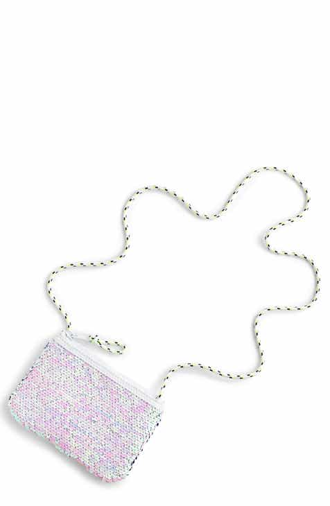 crewcuts by J.Crew Reversible Sequin Pouchette (Girls)