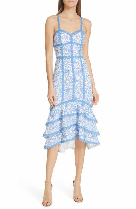 Endless Summer by Free People Don't Mind If I Do Midi Dress by FREE PEOPLE