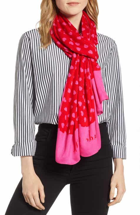 03c55a0aa0987 kate spade new york heartbeat oblong scarf