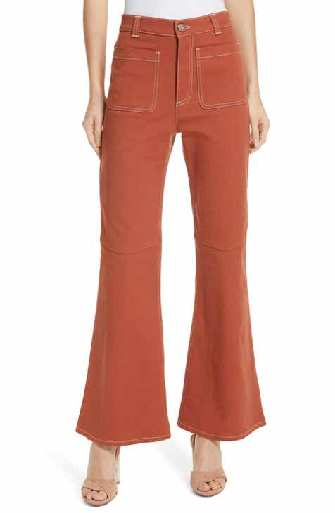7dce35144cc5 See by Chloé Flare Trousers