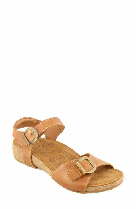 bb40c8c1ea Taos Vera Wedge Sandal (Women). $164.95. Product Image. CUERO LEATHER; BLACK  LEATHER
