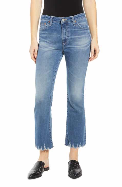 cd483b276329 AG Jodi High Waist Crop Flare Jeans (18 Year Ambrosial)