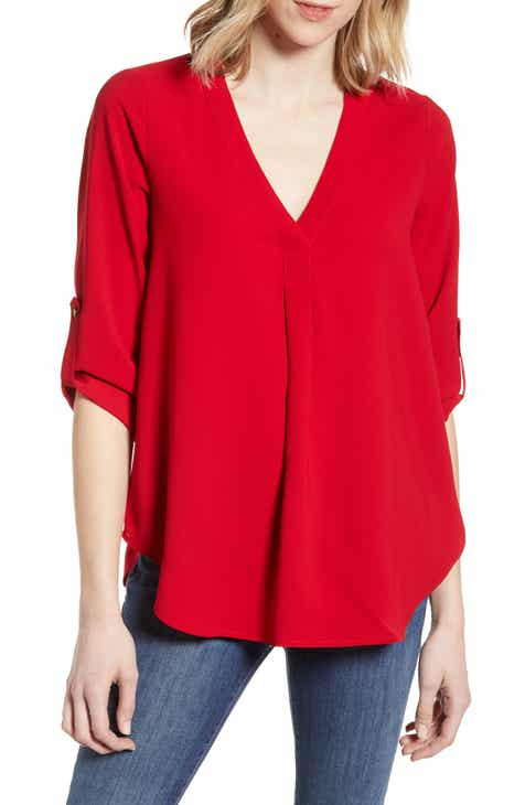 cbeb91b03656 Everleigh Roll Tab Sleeve Tunic (Regular   Petite)