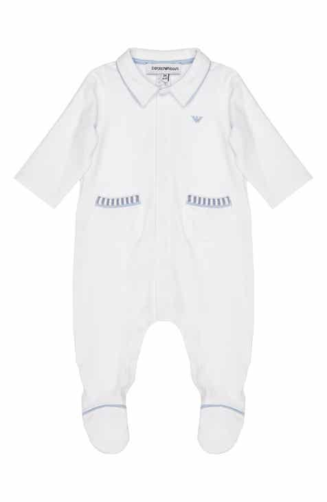 a749217c2b5 Armani Junior Two Pocket Footie (Baby)