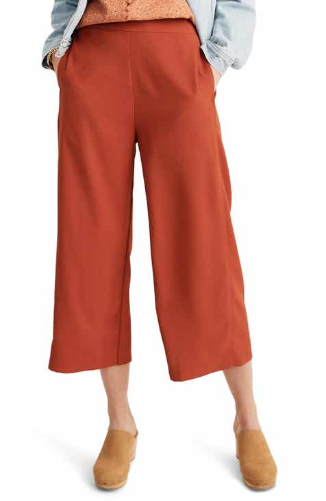 525a7c923d1ce Madewell Huston Pull-On Crop Pants (Regular   Plus Size)