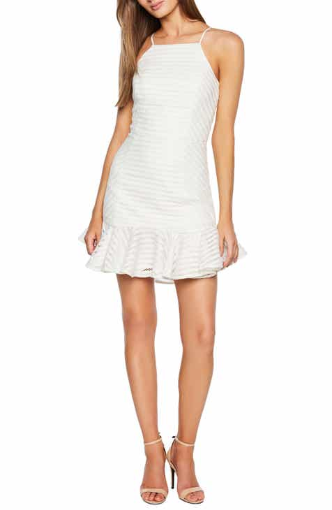 Eliza J Lace Short Sleeve Shift Dress by ELIZA J
