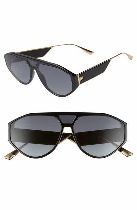 573bb7e681f9 Christian Dior 61mm Aviator Sunglasses.  475.00. Product Image. HAVANA BLACK