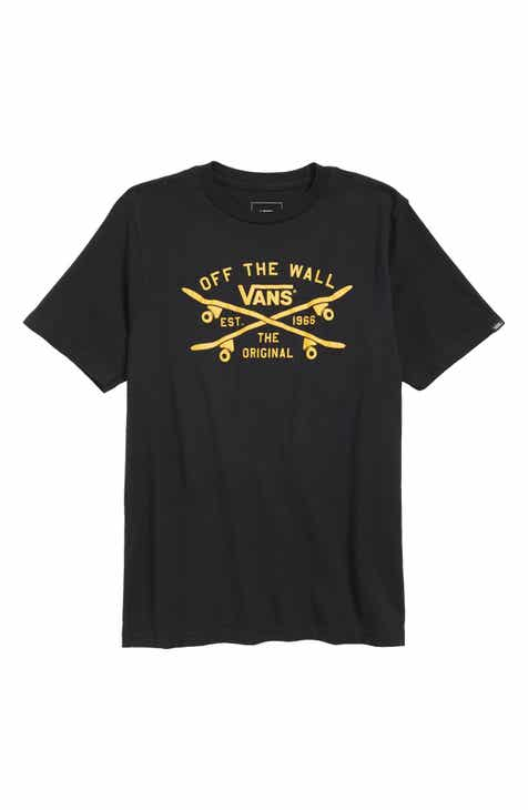 718fcbfd38fe53 Vans Skate Lock Up T-Shirt (Big Boys)