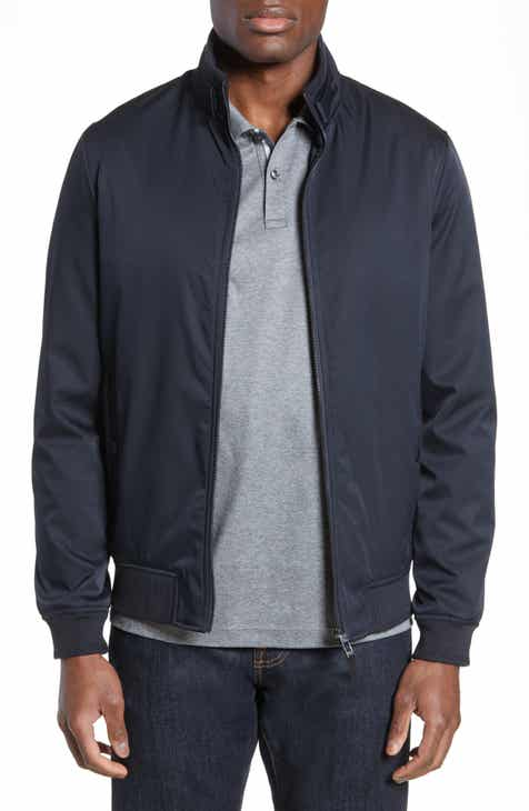 fb75d24a48b36f Ted Baker London Claude Slim Fit Bomber Jacket