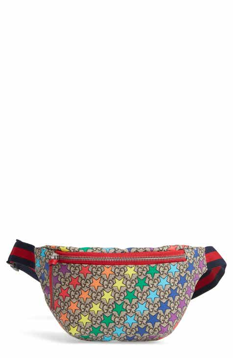 Gucci Rainbow Star Canvas Belt Bag (Kids)