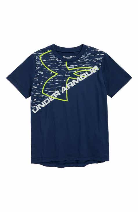 Under Armour Exploded Logo Graphic T-Shirt (Big Boys)