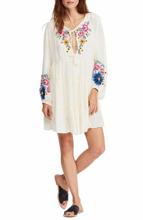 ce130f1422e7 Free People Spell On You Embroidered Minidress