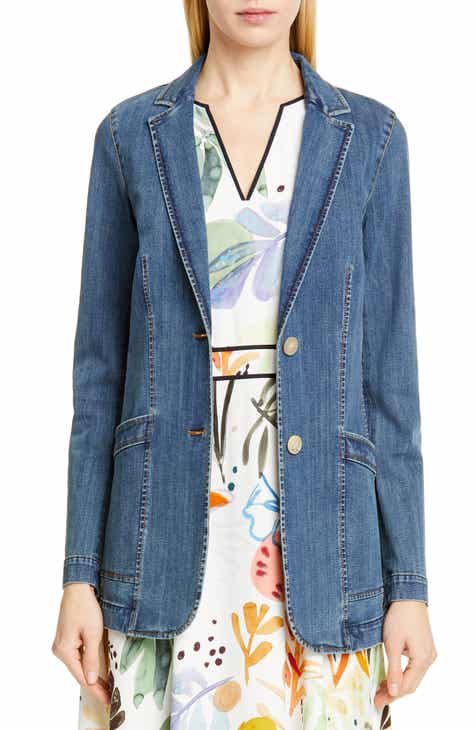 Lafayette 148 New York Boston Denim Jacket by LAFAYETTE 148