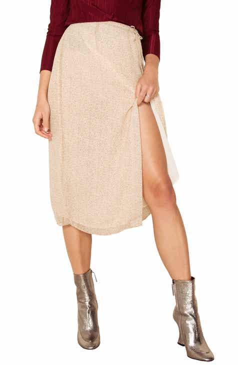 The East Order Vera Side Slit Midi Skirt by THE EAST ORDER