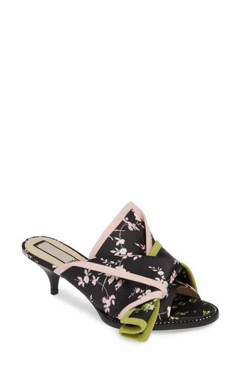 7248babcebf360 Nº21 Kitten Heel Slide Sandal (Women)