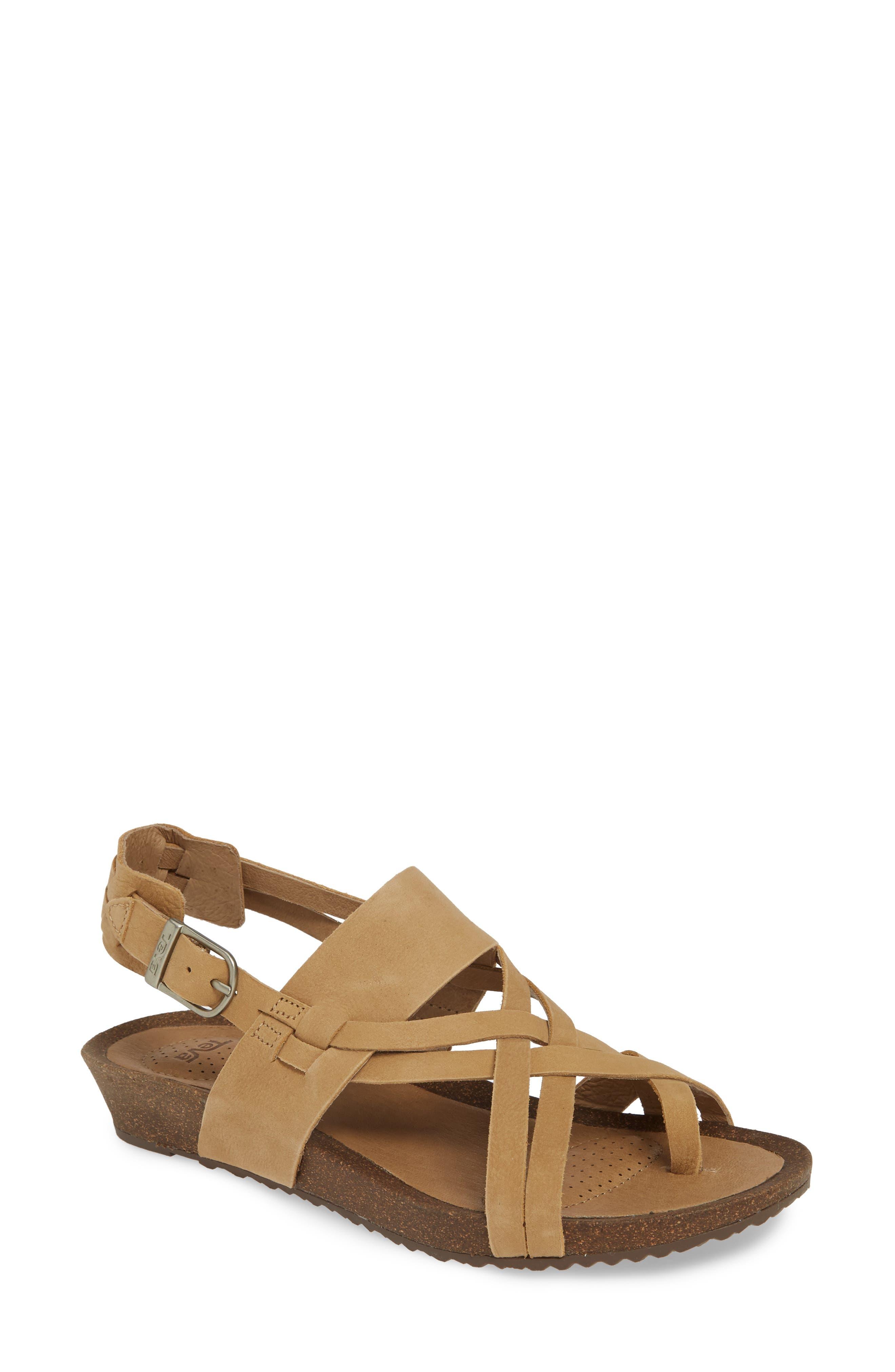 eefef78f5218 Beige Teva Sandals
