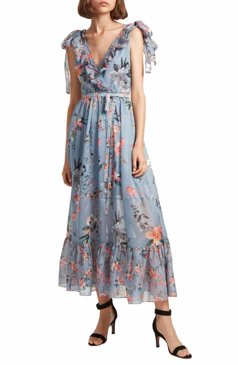 a8f0f4f8e4 French Connection Cecile Floral Print Maxi Dress