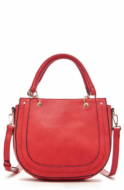 5a7a66a669cc Sole Society Rubie Faux Leather Satchel