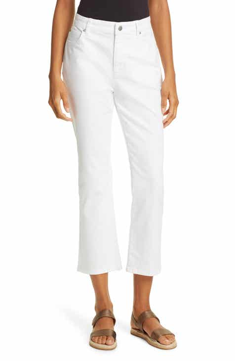 Eileen Fisher Slim Crop Jeans (Regular & Petite) by EILEEN FISHER