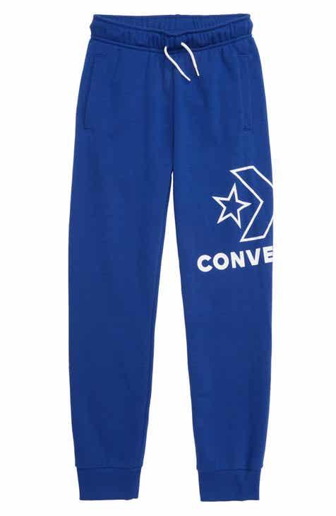 9b1fca2aae40 Converse Logo Graphic Jogger Pants (Big Boys)