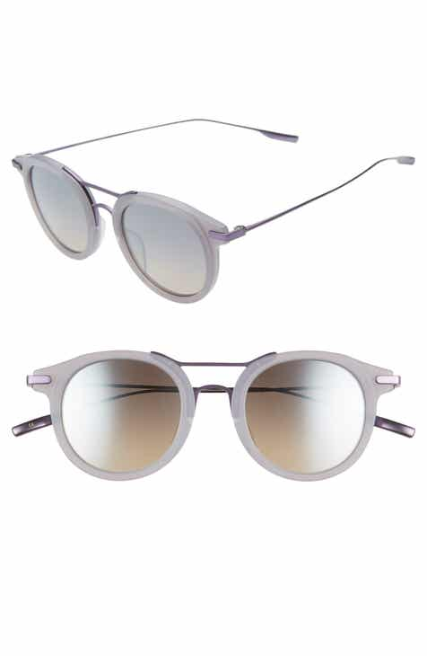 c4b4a96f1fb Taft 50mm Polarized Round Sunglasses