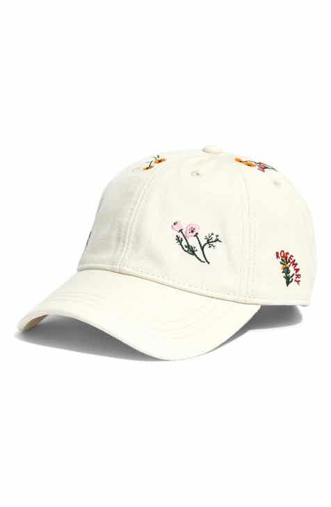 ff41d324092 Madewell Botanical Embroidered Baseball Cap