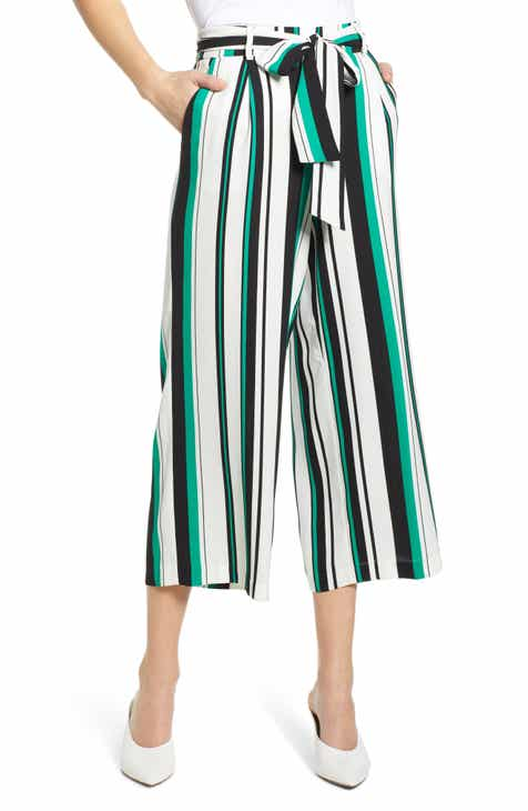 728d7be0410 Halogen® Wide Leg Crop Pants (Regular   Petite)