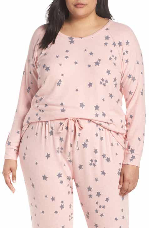PJ Salvage Peachy Party Pajama Top (Plus Size) 8fe3abf1d