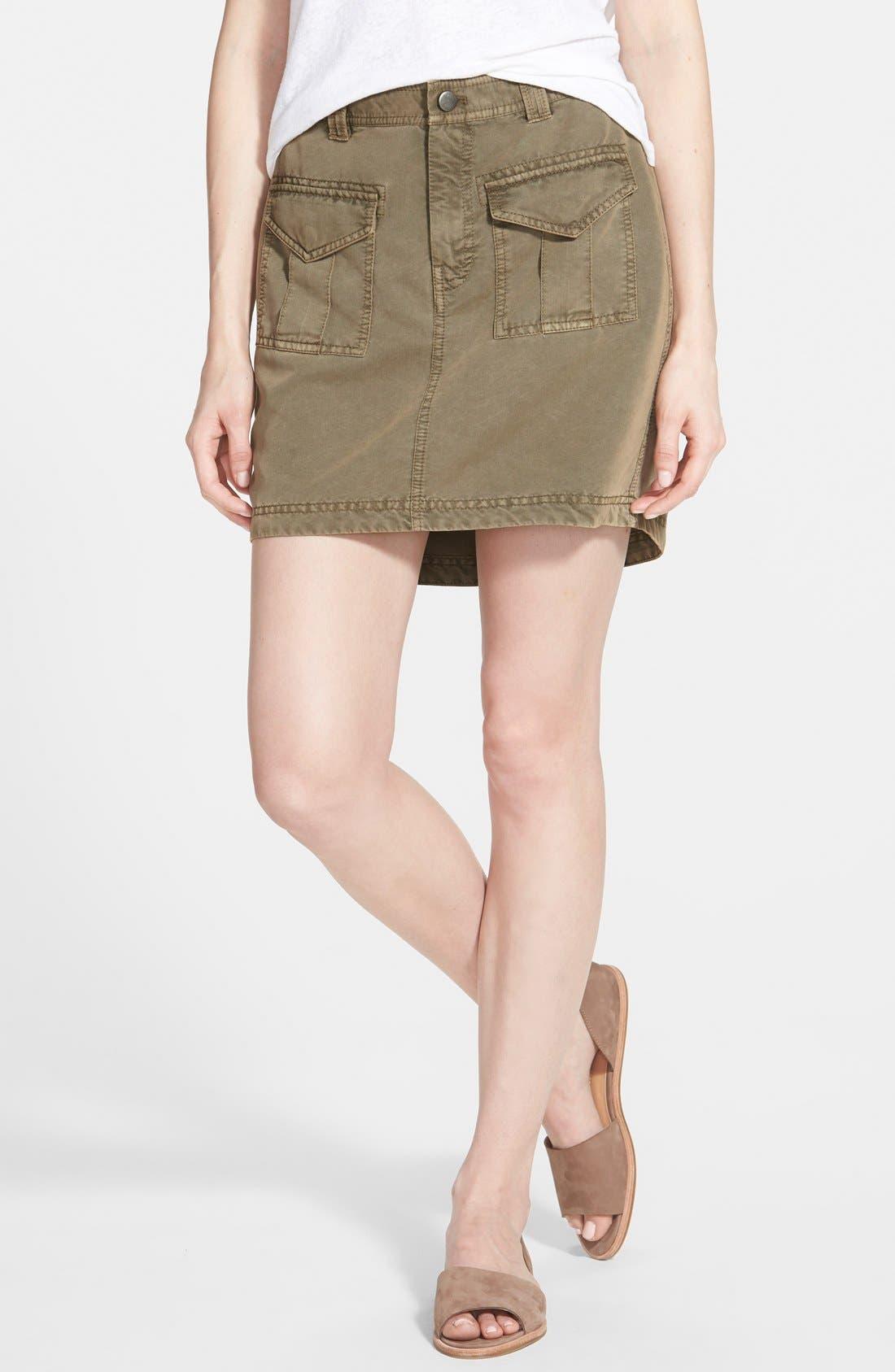 Main Image - Hinge Vintage Military Skirt