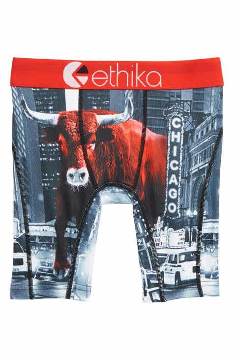 Ethika Chicago Bull Boxer Briefs (Little Boys   Big Boys) a2780b31037