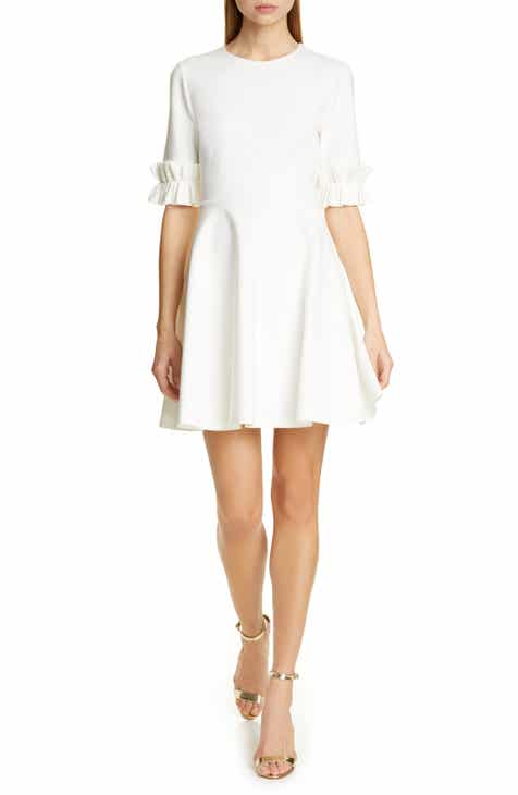 a32807f9733773 Ted Baker London Ritzi Ruffle Sleeve Skater Dress
