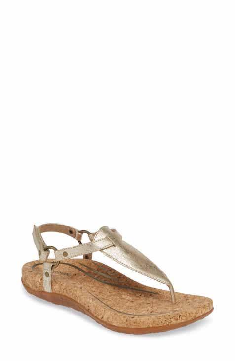 4cc49986b4d Aetrex Women s Metallic Detail Sandals