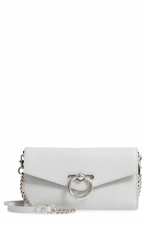Rebecca Minkoff Jean Leather Wallet on a Chain d7856499815bb