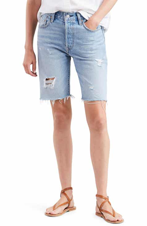 b8e1abe108 Levi's® 501® Ripped Slouch Shorts (Slouch Around)