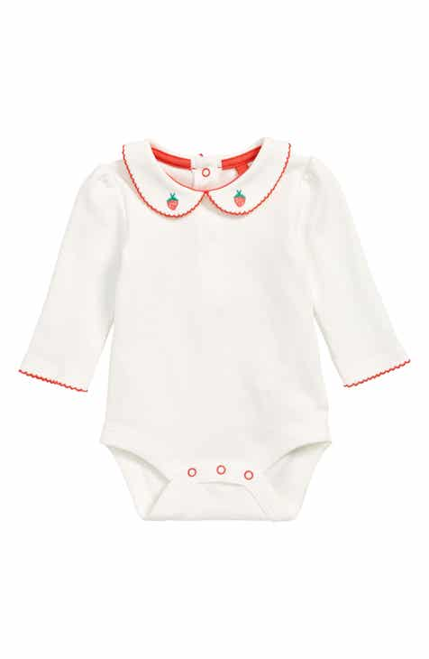 609e6a30fa33 Mini Boden Supersoft Collar Bodysuit (Baby   Toddler Girls)